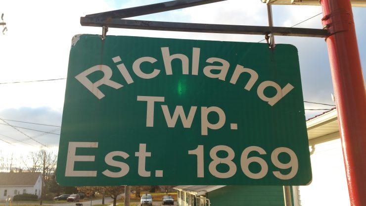 Richland Twp Est 1869